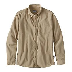 Patagonia Mens Long Sleeve Bluffside Cord Shirt