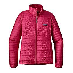 patagonia womens down shirt- Save 20% Off - Patagonia Womens Down Shirt - Sure, theres jumping jacks, the hot-water-bottle-against-the-belly trick and the time-honored partner spoon. But when you need a touch more warmth, our Down Shirt makes life easier. Its minimalist, pared-down design traps your heat with 600-fill-power down (now 100% recycled, reclaimed from used down products) inside a lightweight, windproof 100% recycled polyester shell with a DWR (durable water repellent) finish. The center-front zipper has an internal storm flap and chin guard, and the construction of the two external handwarmer pockets (set into the forward side seams) creates two internal drop-in pockets. Jacket stuffs into either outside pocket.