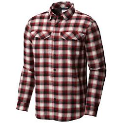 Columbia Mens Silver Ridge Flannel Long Sleeve Shirt