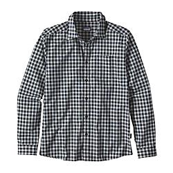 Patagonia Mens Long Sleeved Fezzman Shirt Reg Fit