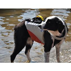 photo of a MTI dog life jacket