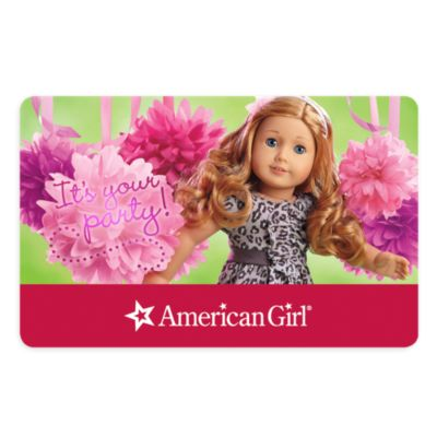 Shop for american doll gift card online at Target. Free shipping on purchases over $35 and save 5% every day with your Target REDcard.