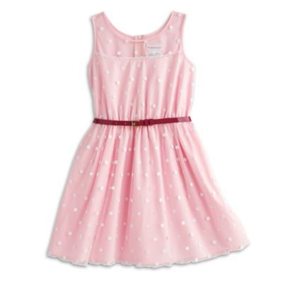Pink Polka Dot Dress for Girls | BeForever | American Girl