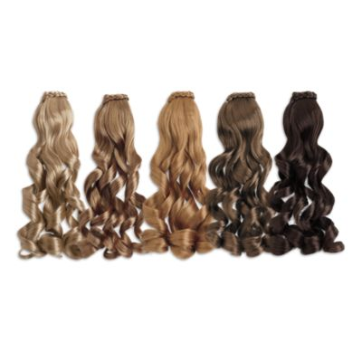 curly ponytail dollcareproduct american girl
