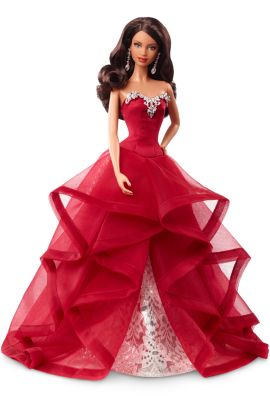 quick view 2015 holiday barbie doll african american barbie doll