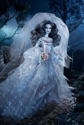 haunted beauty zombie bride barbie doll  the barbie