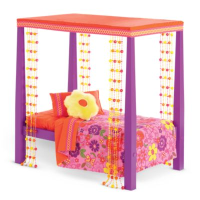 American Girl Julie s Bed   Bedding. Doll Beds   Doll Home Furniture   American Girl