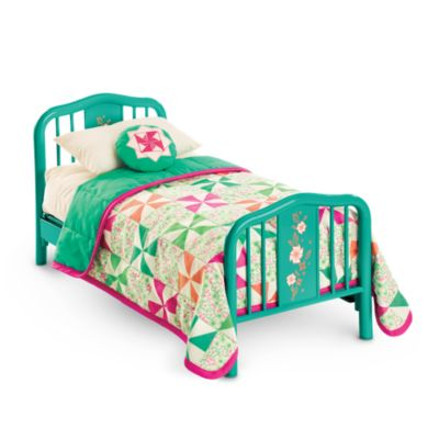 American Girl Kit s Bed   Bedding. Doll Beds   Doll Home Furniture   American Girl