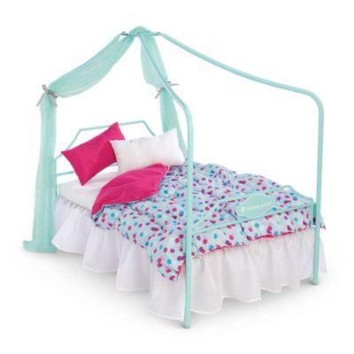 Canopy Bed Bedding Set Furnaccesstm American Girl