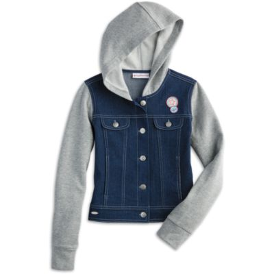 Hooded Denim Jacket for Girls | Truly Me | American Girl
