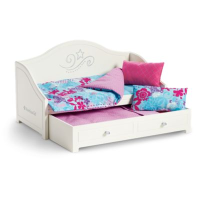 American Girl Trundle Bed   Bedding Set. Doll Beds   Doll Home Furniture   American Girl