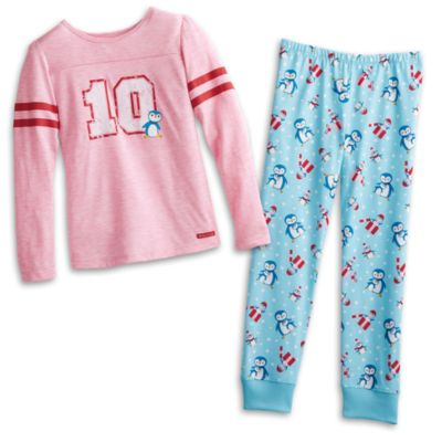 Holiday Penguin PJs for Girls | Truly Me | American Girl