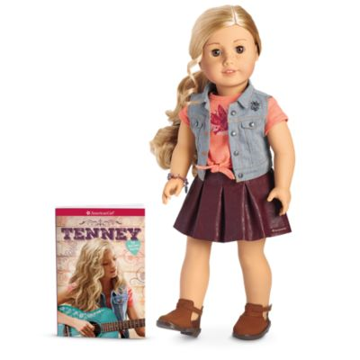 Tenney Doll & Book | American Girl