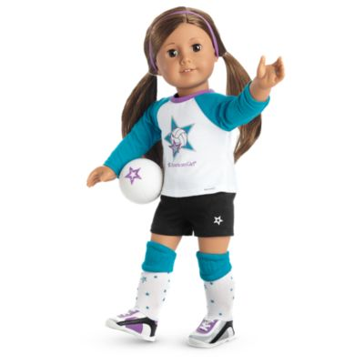 Star Player Volleyball Outfit for 18-inch Dolls | American Girl