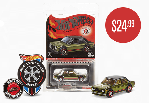 Red Line Club Membership Sign Up Benefits Hot Wheels Collectors