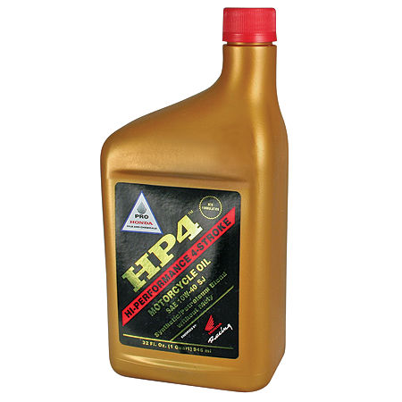 Pro Honda HP4 Semi-Synthetic 4-Stroke Engine Oil - 10W40 - Main