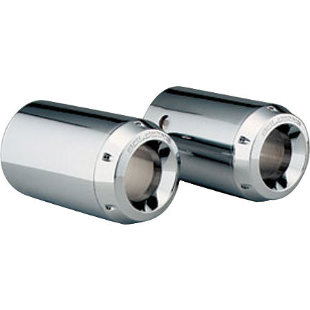 Honda Genuine Accessories Chrome Exhaust Tips With Gl Logo - Main