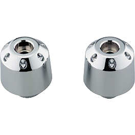 Honda Genuine Accessories Chrome Bar Ends - Show Chrome Lower Front Cowl - Chrome