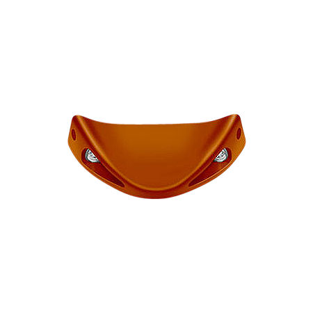 Honda Genuine Accessories Front Spoiler - Matte Orange Metallic - Main