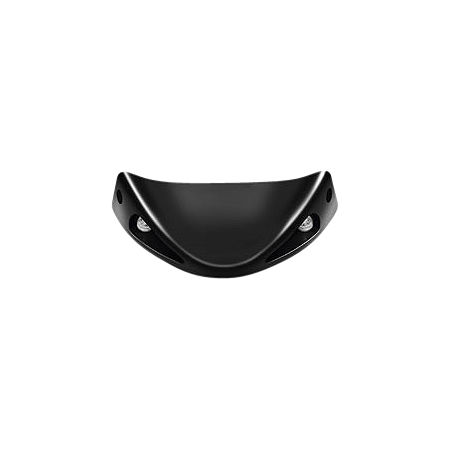 Honda Genuine Accessories Front Spoiler - Black Metallic - Main