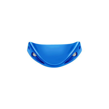 Honda Genuine Accessories Front Spoiler - Ultra Metallic Blue - Main
