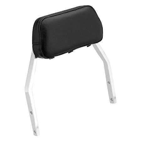 Honda Genuine Accessories Plain Low Chrome Backrest - Main