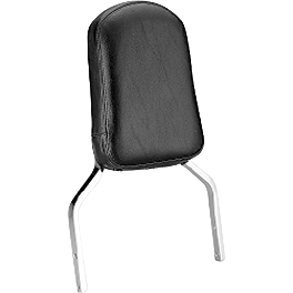 Honda Genuine Accessories Tall Chrome Backrest - Honda Genuine Accessories Chrome Rear Carrier