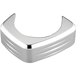 Honda Genuine Accessories Billet Driveshaft Bolt Cover - Jardine Carburetor Cover - Chrome