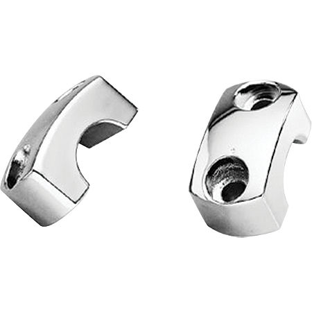 Honda Genuine Accessories Chrome Handlebar Clamps - Main