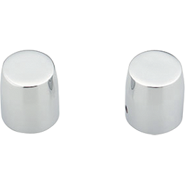 Honda Genuine Accessories Billet Banjo Bolt Covers - Honda Genuine Accessories Chrome Windscreen