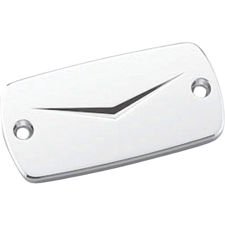 Honda Genuine Accessories Billet Master Cylinder Cap - V Design - Main