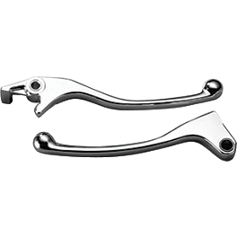 Honda Genuine Accessories Chrome Lever Set - 2002 Honda Shadow VLX - VT600C Honda Genuine Accessories Cruiser Windscreen