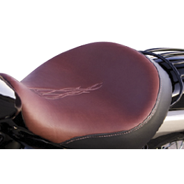 Honda Genuine Accessories Custom Rider Seat - Willie & Max Black Label Solo Seat