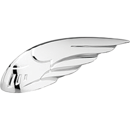Honda Genuine Accessories Chrome Front Fender Ornament - 2007 Honda VTX1800N3 Honda Genuine Accessories Leather Saddlebags - 18L Plain