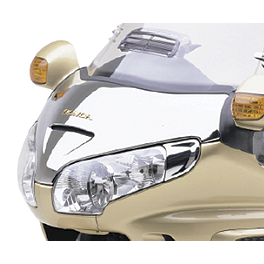 Honda Genuine Accessories Chrome Windscreen Garnish - LA Choppers Air Injection Block-Off Plates