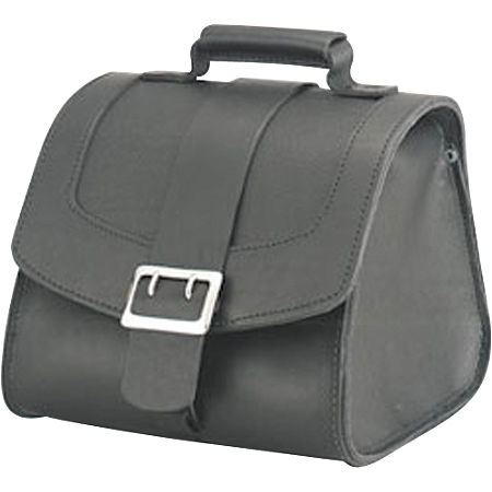 Honda Genuine Accessories Leather Touring Bag - Main