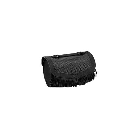 Honda Genuine Accessories Leather Touring Bag - Fringed - Main