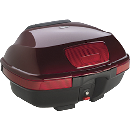 Honda Genuine Accessories Rear Trunk Metallic Red - Honda Genuine Accessories Rear Trunk Metallic Silver