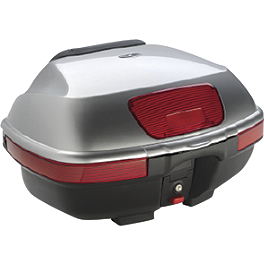 Honda Genuine Accessories Rear Trunk Metallic Silver - Honda Genuine Accessories Rear Trunk Metallic Red