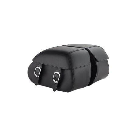 Honda Genuine Accessories Synthetic Leather Saddlebags - 18L Plain - Main