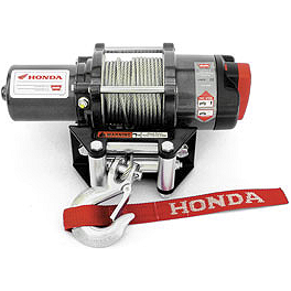 Honda Genuine Accessories Winch Kit - 2010 Honda RINCON 680 4X4 Warn Winch Mounting System