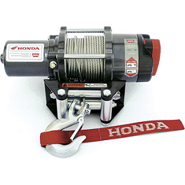 Honda Genuine Accessories Winch Kit - Honda Genuine Accessories Front Brush Guard