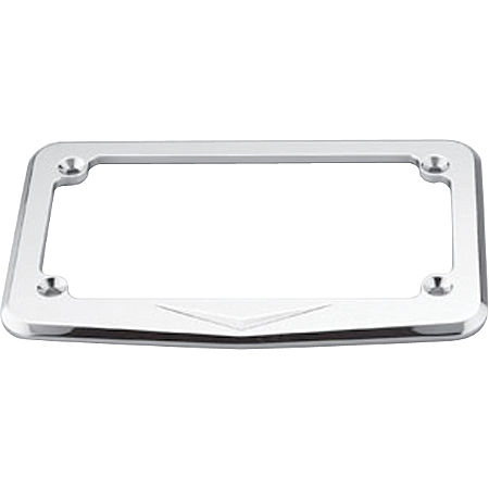 Honda Genuine Accessories Billet License Plate Frame - V-Designs - Main