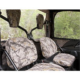 Honda Genuine Accessories Seat / Headrest Cover - Camo - 2011 Honda BIG RED 700 4X4 Honda Genuine Accessories Digital Meter Kit
