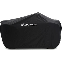 Honda Genuine Accessories Outdoor Storage Cover - XL - 2011 Honda TRX250 RECON Honda Genuine Accessories Soft Rack Bag - Rear