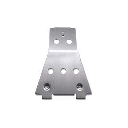 Honda Genuine Accessories Rear Frame Skid Plate - Honda Genuine Accessories A-Arm Guards - Rear