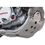 Honda Genuine Accessories Aluminum Skid Plate - Honda Genuine Accessories Dirt Bike Dirt Bike Parts