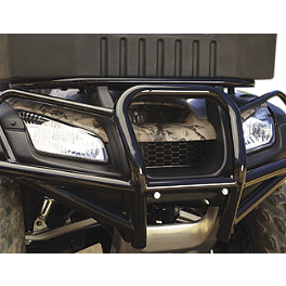 Honda Genuine Accessories Front Brush Guard - 2010 Honda RINCON 680 4X4 Moose Utility Rear Bumper