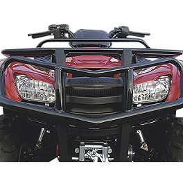 Honda Genuine Accessories Front Brush Guard - 2010 Honda RANCHER 420 4X4 ES Moose Utility Front Bumper