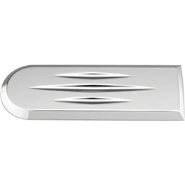 Honda Genuine Accessories Billet Countershaft Cover Trim - Show Chrome Triple Tree Accent